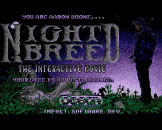 Nightbreed: The Interactive Movie Loading Screen For The Amiga 500