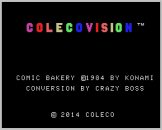 Comic Bakery Screenshot 0 (Coleco Vision/Adam)