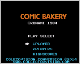 Comic Bakery Screenshot 1 (Coleco Vision/Adam)