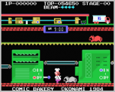 Comic Bakery Screenshot 2 (Coleco Vision/Adam)