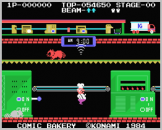 Comic Bakery Screenshot 4 (Coleco Vision/Adam)