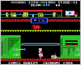 Comic Bakery Screenshot 5 (Coleco Vision/Adam)