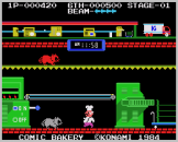 Comic Bakery Screenshot 8 (Coleco Vision/Adam)