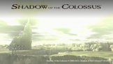 Shadow Of The Colossus Loading Screen For The PlayStation 3