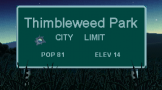 Thimbleweed Park Loading Screen For The PlayStation 4 (US Version)