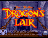 Dragon's Lair Loading Screen For The Amiga 500