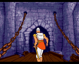 Dragon's Lair Screenshot 1 (Amiga 500)
