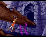 Dragon's Lair Screenshot 2 (Amiga 500)