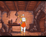 Dragon's Lair Screenshot 3 (Amiga 500)