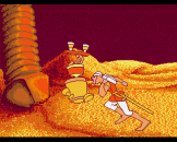 Dragon's Lair Screenshot 21 (Amiga 500)